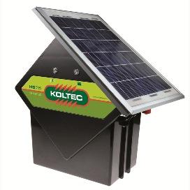 Schrikdraadapparaten met zonnepanelen